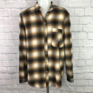 Urban Outfitters BDG Medium Flannel Shirt Plaid